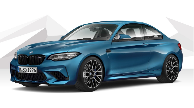 BMW M2 Competition Coupe with DCT