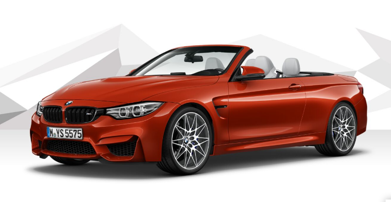 BMW M4 Competition Convertible with DCT