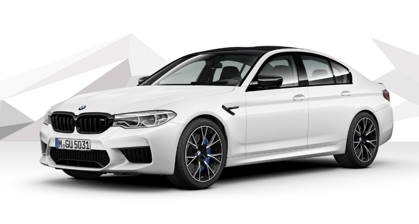 BMW M5 Saloon Competition with DCT